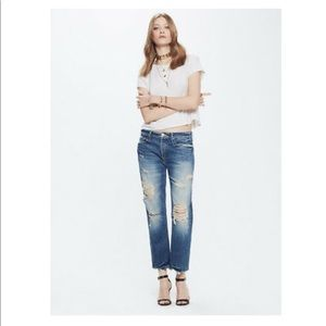 "MOTHER Denim ""The Saint"" in Soul Seeker wash"